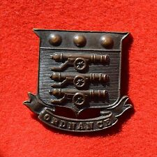 British Army. Army Ordnance Department Genuine Officer's Collar Badge