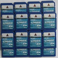 10 x LOT Kingston 2GB SD 2G Secure Digital Flash Memory Card SD/2GB 10pcs