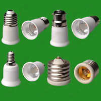 E14, B22, or E27 TO E27 EXTENDER ADAPTOR - LED BULBS IN SPOT LIGHT LAMP R63 R80