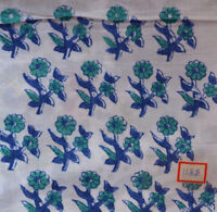 Hand Block Print Indian Cotton Running Loose Fabric Sewing Women Clothing 5 Yard