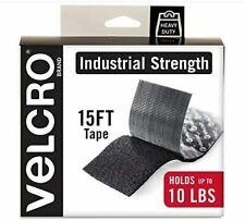 """Velcro Brand Industrial Adhesive Heavy Duty Tape Hook Loop Fastener 2"""" X 15'"""