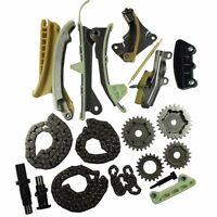 SOHC V6 Engine Timing Chain Gears Kit For 97-09 Ford Explorer Mazda Mercury 4.0L