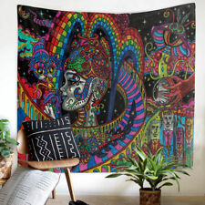 Tapestry Wall Hanging Psychedelic Bohemian Throw Indian Mandala Colorful Decor