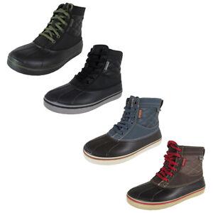 Crocs Mens AllCast Waterproof Duck Boot Shoes