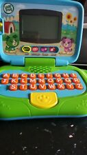 Leap Frog 19150 Learning Laptop Kids Educational Toys Leaptop Blue ABC tested