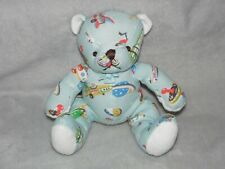 CATH KIDSTONE BLUE BEAR SOFT TOY SPACE ROCKET TEDDY COMFORTER DOUDOU