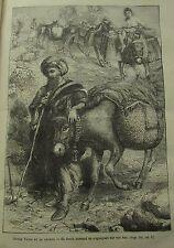 JOURNAL DES VOYAGES N° 169 de 1880 TUNISIE COMMERCANT JACOB CARLA SERENA RUSSIE