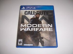 Replacement Box Case CALL OF DUTY MODERN WARFARE Sony PlayStation 4 PS4 ORIGINAL