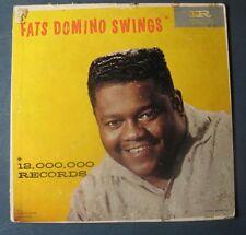 "Fats Domino--""Fats Domino Swings""--1959 Vinyl LP--Black Label/Stars on Top"