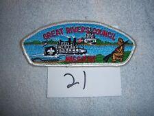 Great Rivers Council T-2 Shoulder Patch Boy Scout - 21