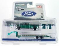 Greenlight Hitch & Tow 2019 Ford F-350 Lariat with Gooseneck Trailer 51307 Chase