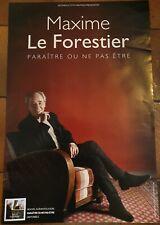 Maxime Le Forestier affiche 40x60cm. - POSTER. envoi roulé