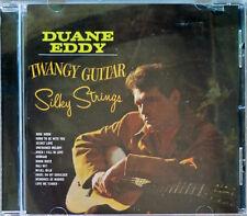 DUANE EDDY - TWANGY GUITAR, SILKY STRINGS - FRENCH CD - REMASTERED - 13 TRACKS