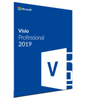 MS Visio Professional 2019 Microsoft Visio 2019 pro FOR one PC GENUINE
