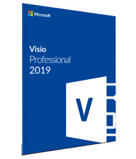 MS Visio Professional 2019 Microsoft Visio 2019 pro FOR one PC GENUINE