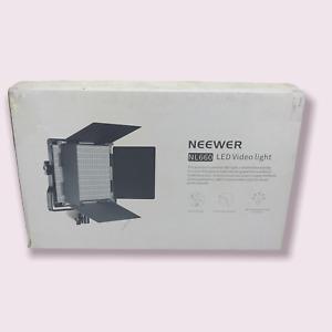 2 Packs Neewer NL660 Bi-Color Video LED 2-Light Kit with Stands #U8694