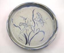 Cathy & David Robinson Studio Art Pottery Wear NH Extra Large Iris Plate