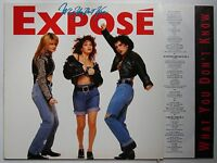 Expose What You Don't Know 1989 LP + Innerbag Funk Soul Latin