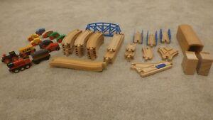 Wooden Brio train track bundle