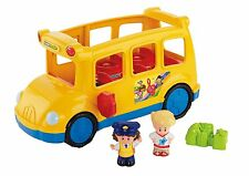 Fisher Price Little People - Lil' Movers School Bus - 2 Figures