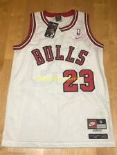 MICHAEL AIR JORDAN Chicago BULLS 1984 Rookie NIKE Throwback SWINGMAN Jersey S