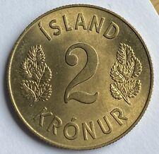 More details for iceland 2 kronur 1958 (km#13a)