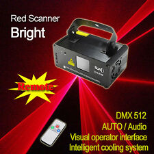 SUNY DMX Red Ray Beam Scanner Laser Stage Light DJ Party Show Projector DM-R200