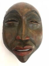RARE 1850'S TLINGIT TRANSFORMATION MASK FROM A FRENCH COLLECTION Portrait style