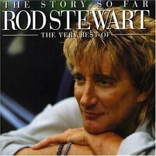 ROD STEWART - THE STORY SO FAR - 2 X GREATEST HITS CD SET - MAGGIE MAY / SAILING