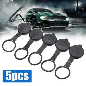 5pcs Car SUV Cigarette Lighter Socket Cover Caps 12V Outlet Fitness Waterproof