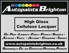 High Gloss Cellulose Clear lacquer 1L