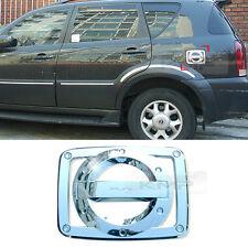 Chrome Oil Fuel Cap Cover Molding Garnish Trim for SSANGYONG 2001 - 2012 Rexton