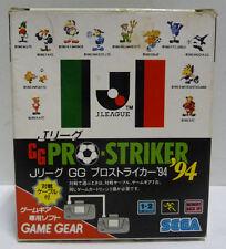 J LEAGUE PRO STRIKER 94 LINK CABLE BUNDLE EDITION - SEGA GAME GEAR  NTSC JAPAN