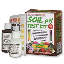 Manutec Garden Care Products Soil PH Test Kit
