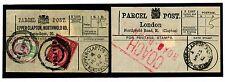1527 1984-1912 GB London Upper Clapton Northwold Rd Parcel Post Labels {2}