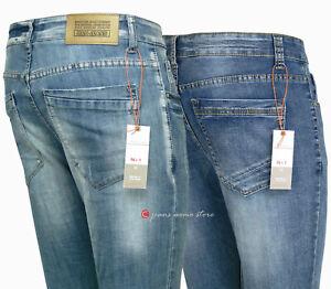 Jeans uomo skinny = DSQUARED 2  cotone denim STRETCH strappato consumato slavato