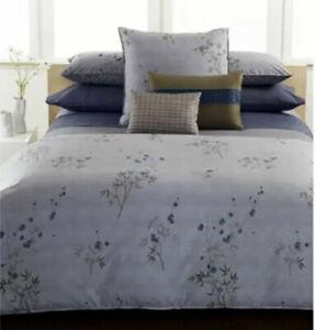 Calvin Klein Comforter Set Bamboo Flowers 3-Piece 1 Comforter & 2 Shams King
