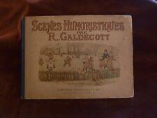 album de caldecott scenes humoristiques 1882 hachette