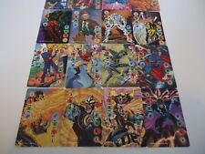 SET OF ALL 20 MULTI-POWER POWER CARDS LEVELS 1-4 MARVEL, IMAGE, DC OVERPOWER
