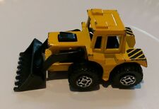 Vintage 1976 Matchbox Superfast No 29 Tractor Shovel Yellow construction vehicle