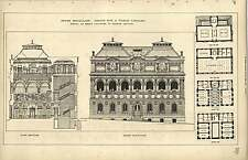 1889, Soane Medallion Design For Public Library George Kenyon