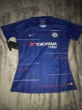 $90 Nike Chelsea Home Stadium Soccer Jersey Women's Sz MEDIUM Blue 919218-496