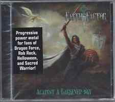 Faith Factor-Against A Darkened Sky CD Progressive Power  Metal Brand New-Sealed