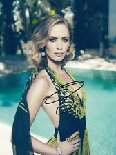 Emily Blunt Signed Auto 8 x 10  Photograph