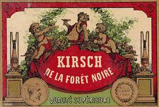 A77 ALCOOL KIRSCH DE LA FORET NOIRE ENFANTS NAPOLEON III EMPEREUR
