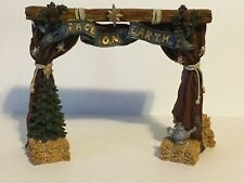 Boyds Bears Resin The Stage Resin Christmas Bearstone 2425 Nos