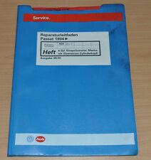 VW Passat B4 4 Zylinder Einspritzmotor Querstrom  AEK AFT   Werkstatthandbuch