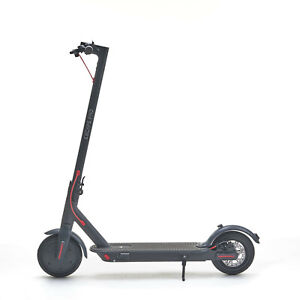 """ESCAPE PRO Electric Scooter 8.5"""" Pro Display 30KMH Foldable Eco Friendly - BLACK"""
