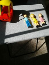 Vintage Little Tikes Dollhouse Family Dad Mom daughter People Figures