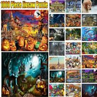 1000PC Children Adult Kids Puzzles Educational Toy Halloween Decor Jigsaw Toy UK
